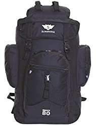 Slimbridge Trekkingrucksäck Handgepäck Wanderrucksack Wasserabweisend Rucksack 45 Liter 55 cm 1 kg, Knott