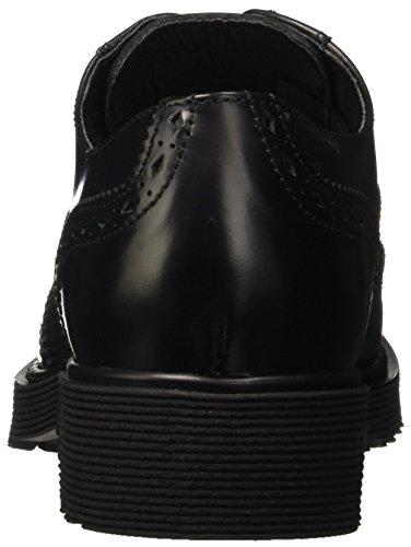 Cult Rose Cle102650, Pompes à plateforme plate femme Noir - noir
