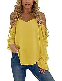 Bluse Latina Carmen Ausschnitt Damen Lang Casual Trend Stickerei Hemd NEU Größe