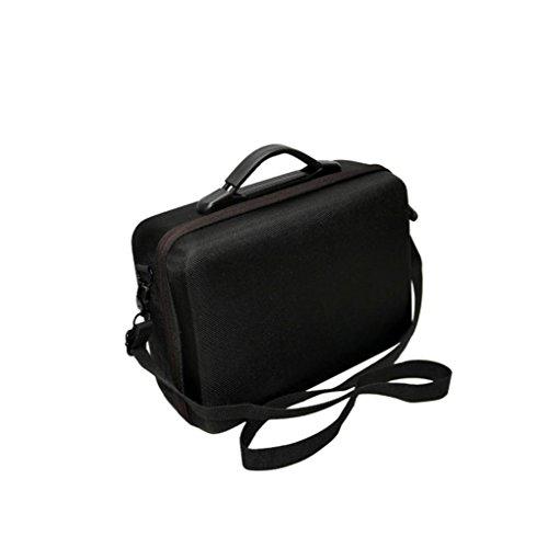 Fulltime® PC + ABS Hardshell Wasserdichte Tragetasche Suitcase Umhängetasche für DJI Mavic Pro RC Quadcopter, 29 x 21 x 11cm, Schwarz (Schwarz) - 6
