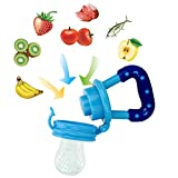 LianLe 2 in 1 Silikon Baby Fresh Food Feeder Gemüsesauger für frische Lebensmittel -