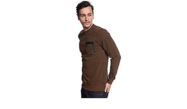 Vêtements Technique L Quiksilver Quiksilver Yattemi Homme Marron Sweat Et Accessoires qCUI0w