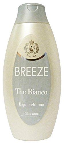 Breeze Lot de 6 bain The Blanc 400 ml. Les savons et cosmétiques