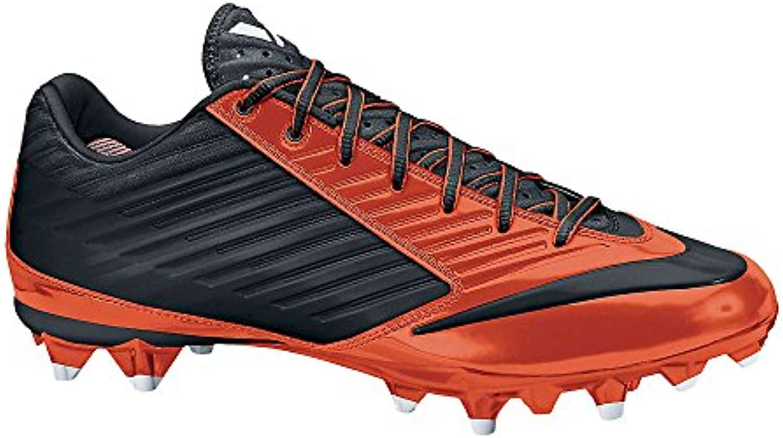 Nike Mens Vapor Speed Low Td Molded Football Cleats  Org/Blk  SZ 10