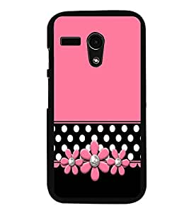 Fuson Teters Floral Designer Back Case Cover for Motorola Moto X Force :: Motorola Moto X Force Dual SIM (Ethnic Pattern Patterns Floral Decorative Abstact Love Lovely Beauty)
