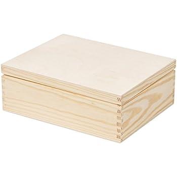 aufbewahrungsbox holzbox f cher ohne deckel. Black Bedroom Furniture Sets. Home Design Ideas