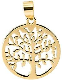 3daa4f6acd09 PRIORITY Colgante ÁRBOL DE LA Vida LABRADO Oro 18K Colgante de Mujer