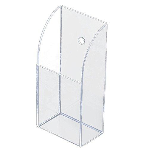 chiaro-acrilico-casa-parete-scrivania-tv-climatizzatore-telecomando-deposito-titolare-organizzatore-