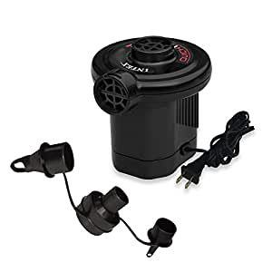 Intex Quick-Fill Electric AC Air Pump, 110-120 Volt, Max. Air Flow 21.2CFM