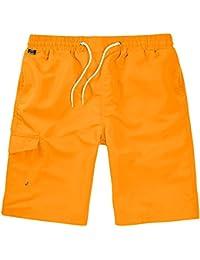 Brandit Hommes Shorts de Bain Orange