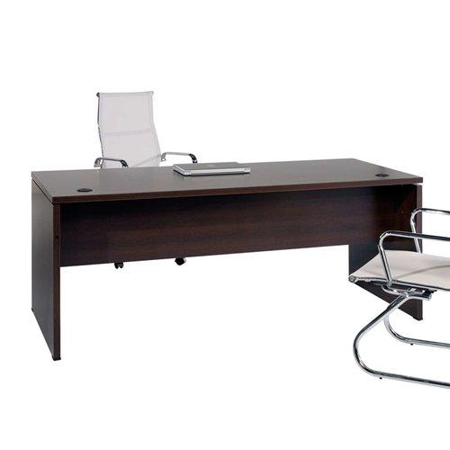 Mesa de Oficina. Euro 2000. Color Wengué. 160x80 cm: Amazon.es: Hogar