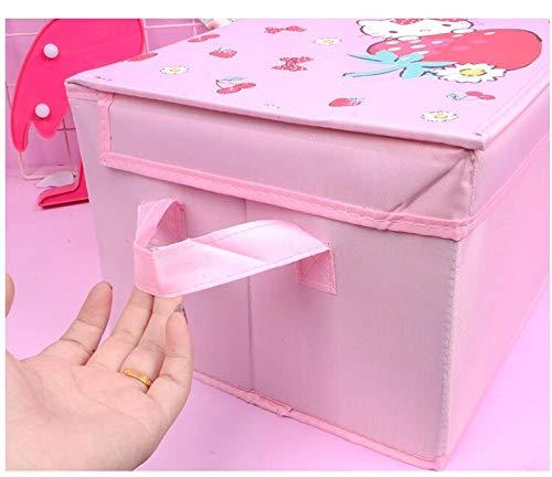 DFGY AufbewahrungsboxCartoon Kitty Mein Meloy-kostüm Socken BH Make-up Faltauflage Box