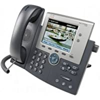 Cisco CP-7945G SCCP, SIP Unified IP Phone, Nero