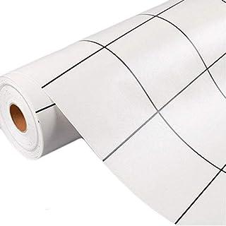 ANGELNEWS Kitchen Backsplash PVC Self-adhensive Stickers Oil Proof Wallpaper Wall Stickers (50cmx3m)20'' X 118''