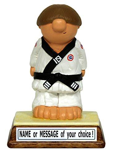 PERSONALISED Karate figure, perfetta idea regalo, trofeo o come regalo per un fan, per arti marziali, in confezione regalo, motivo: personaggi di Kerr