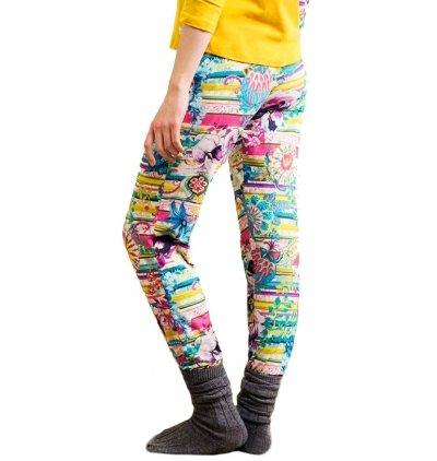 Herren Pyjamahose, Desigual Trouser Paisley NC Mehrfarbig