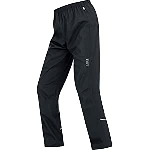 GORE RUNNING WEAR, Herren Winddichte Laufhose, WINDSTOPPER Active Shell, Essential AS Hose, TWESSM990007 , black, Gr. S