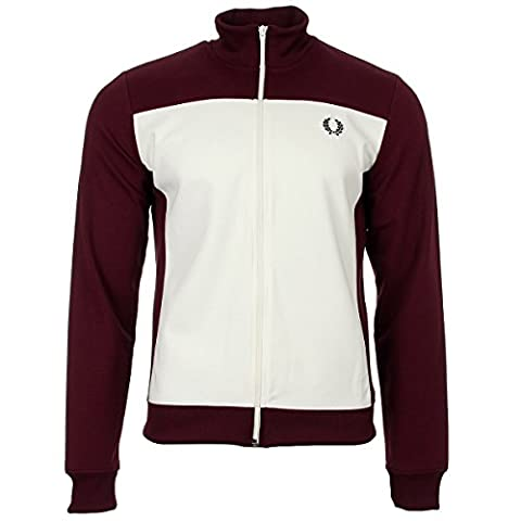 Fred Perry Embroidered Track Jacket, Sportjackett - XL