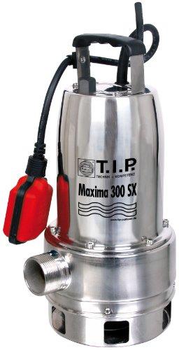 Preisvergleich Produktbild T.I.P. 30116 Schmutzwasser Tauchpumpe Maxima 300 SX Edelstahl, bis 18.000 l/h Fördermenge