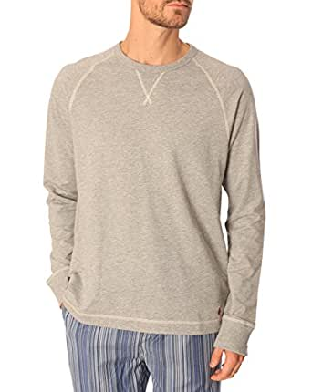 Polo Ralph Lauren Homme Longsleeved Crew , Gris, X-Large