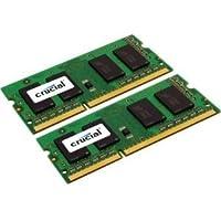 Crucial 16GB DDR3SDRAM memory Module–16GB (2x 8GB)–DDR3SDRAM–1333MHz DDR3–1333/PC3–10600–1.35V–NON-ECC unbuffered–204-pin SODIMM–CT2K8G3S1339M
