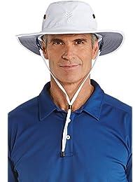 35e9ebdf3cc59 Coolibar Hombre Protección UV Sombrero