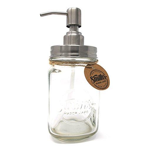 Dosificador de jabón con diseño de jarra hipster modelo Smith's Mason