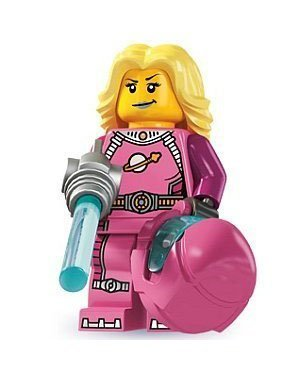 Lego Minifigures Series 6 - Intergalactic Girl by LEGO TOY (English Manual)