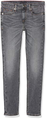 Tommy Hilfiger Jungen Jeans Scanton Slim RAGBST Blau (Raleigh Grey Blue Stretch 911) 152 (Herstellergröße: 12)