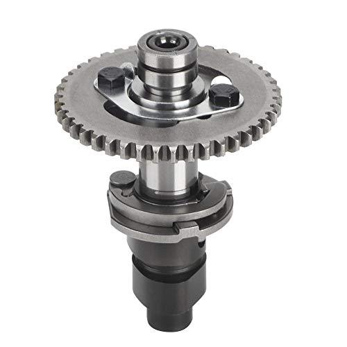 Akozon Motorrad nockenwelle motor ersatz zubehör nockenwelle 0180-024100 0180-024001 fit für linhai atv 500 d