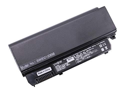 Batterie LI-ION 4400mAh 14.8V Noir Compatible pour Dell remplace D044H, W953G, 312-0831