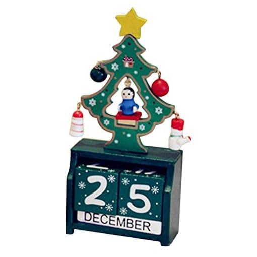 Regali Di Natale In Legno.X266b Calendario Dell Avvento Riutilizzabili In Legno Decor