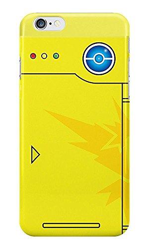 iPhone 6 Plus/6s Plus Pokemon Caja del Silicón / Team Instinct Pokedex Cubierta del Gel para Apple iPhone 6s Plus 6 Plus / Protector de Pantalla y Paño / iCHOOSE