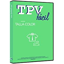 Software para TPV : TPVFÁCIL TALLA COLOR monopuesto