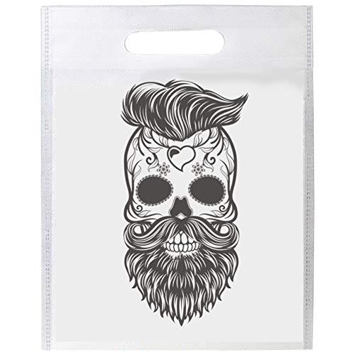 My Custom Style Shopper Polyethylen 33x41cm Mix #Halloween_A# Halloween-teschio_3