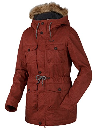 Oakley Damen Jacke Tamarack XL Fired Brick