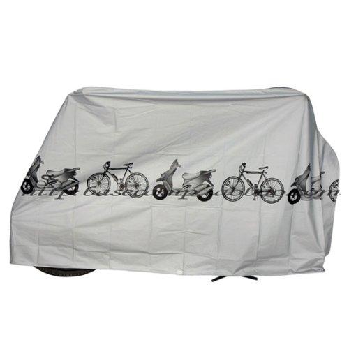 Matefielduk Schutzhüllen für Fahrradbekleidung, Regenabdeckung, wasserdicht, für den Außenbereich, Scooter, Grau