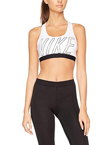 Nike Pro Classic Logo Read Bra Brassière de sport Femme blanco (white    black   d87d2e8778b