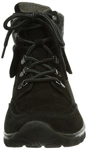 Gabor Shoes Comfort, Sneaker alta Donna Multicolore (Mehrfarbig (schw/anthr.(Mel.)))