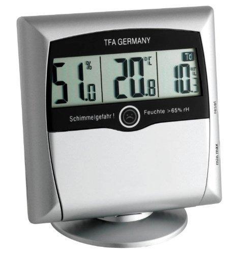 SHCC 5011 Wetterladen Thermometer-Hygrometer silber
