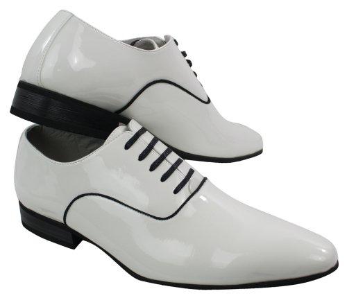 Herren Schuhe geschnürt Weiß Italienisches Design nur EUR31,99 Weiß