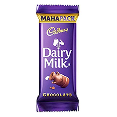 Cadbury Dairy Milk Chocolate Bar, 52g Maha Pack (Pack of 15)