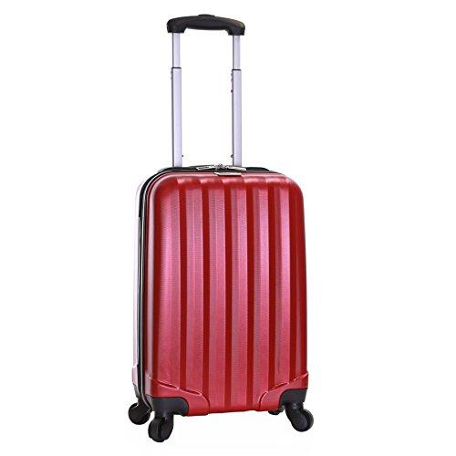 Slimbridge Banff 55 cm equipaje de mano duro, Rojo
