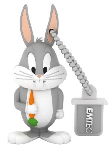 Emtec Looney Tunes Episode 2 EKMMD4GL104 L104 4GB LT BUGS Bunny Memoria USB portatile 4096 MB