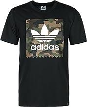 adidas Camo Bb Tee - Camiseta para hombre, color negro