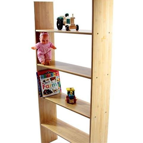 Bunk Bed Clip on Shelf 4 Tiers. Kids Bedroom Furniture.