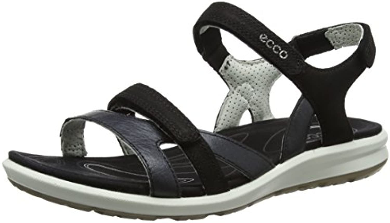 Koyi Sandalias Nuevas de Verano Palabra Femenina Bombas Dulces Zapatos Cómodos de la Corte 37 EU|Black