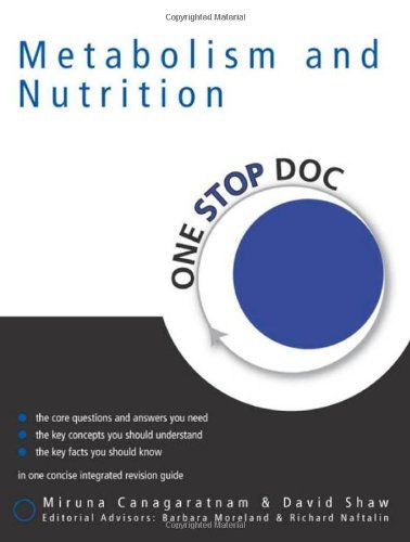 One Stop Doc Metabolism & Nutrition by David Shaw (2005-02-25)