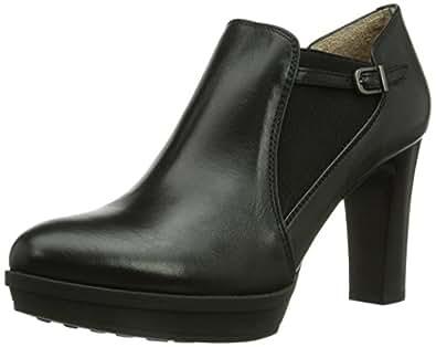 Unisa MERLE_TO, Damen Kurzschaft Stiefel, Schwarz (BLACK), 39 EU (6 Damen UK)