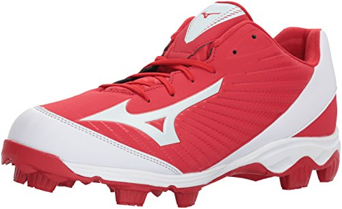 Mizuno (MIZD9 Herren 9 Spike Advanced Franchise 9 Molded Baseball Cleat-Low Schuh, Rot (rot/weiß), 46 EU